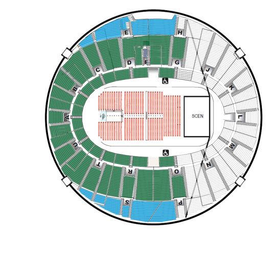 scandinavium göteborg karta Biljetter till Andrea Bocelli Scandinavium (GÖTEBORG) 2019 03 16  scandinavium göteborg karta